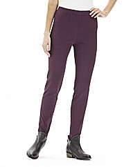 Pull On Slim Leg Jeggings - Long