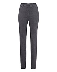 Pull On Slim Leg Jeggings - Regular
