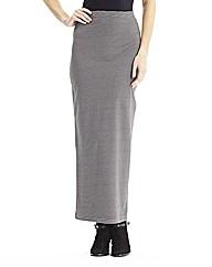 Stripe Maxi Tube Skirt