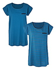 Stripe Pack of 2 T-Shirts