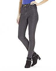 Daisy Skinny Jeggings - Long