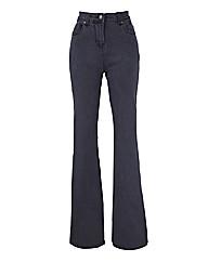 Kim High Waist Bootcut Jeans - Long