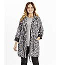 Animal Print Lightweight Parka