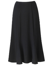 Jersey Godet Skirt Length 29in
