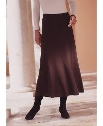 Panelled Pull On Jersey Skirt Length29in
