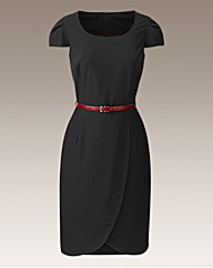 Fabrici Tailored Dress With Belt 40 ins
