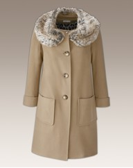 Fabrici Fur Collar Coat