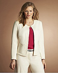 Peplum Hem Tailored Jacket
