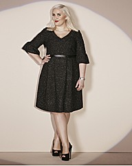 Claire Richards Tweed Prom Dress