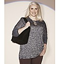 Claire Richards Lurex Jumper