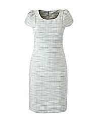 Claire Richards Tweed Shift Dress