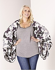 Claire Richards Kimono Style Cover Up