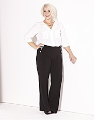 Claire Richards High Waisted Trousers
