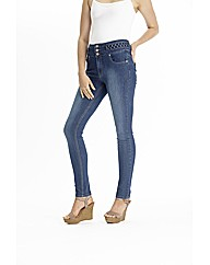 Claire Richards High Waisted Skinny Jean