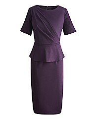 Claire Richards Bodycon Peplum Dress
