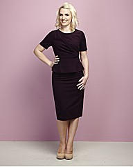 Claire Richards Bodycon Peplum Dress