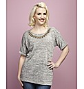 Claire Richards Statement Necklace Tee