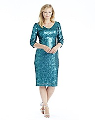 Claire Richards Sequin Dress