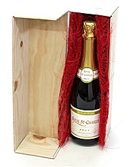 Personalised Sparkling Wine Gift Set
