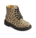 Chatterbox Leopard Print Ankle Boots