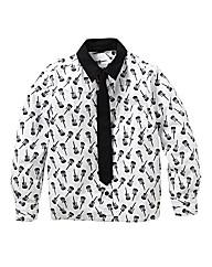 KD EDGE Guitar Shirt and Tie (7-13years)
