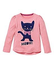 KD MINI Girls Cat Top (2-6 years)