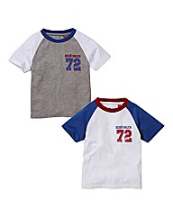 Ecko Pack of Two T-Shirts (2-7years)