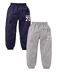 Ecko Boys Pk 2 Fleece pants (2-7years)