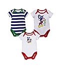 Mickey Mouse Pack of 3 Bodysuits