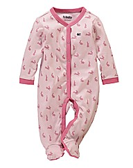 French Connection Baby Sleepsuit