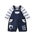 KD BABY Dungaree and Top Set