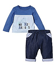 KD BABY Top and Jeans Set