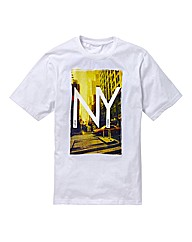 Jacamo New York T-Shirt Long