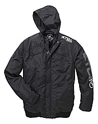 Eto Full Zip Nylon Jacket