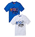Eto Pack of Two T-shirts