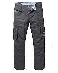 Eto Denim Coated Cargo Jean 33in Leg