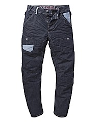 Eto Contrast Jean 33in Leg Length