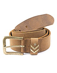 Jacamo Brown Leather Belt