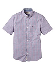 Penguin Gingham Short Sleeve Shirt