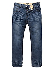 Lambretta Flag Stitch Jean 33in Leg