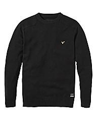 Voi Arrow Crew Neck Knitted Sweater