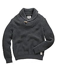 Bellfield Boreal Shawl Neck Knit