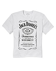 Jack Daniels white Tshirt Long