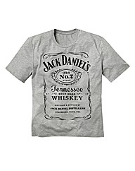 Jack Daniels Grey Tshirt Long