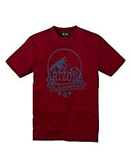 Jacamo Graphic Print Tshirt Regular