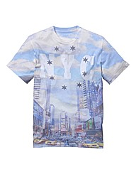 Label J NY Skyline T-Shirt Long