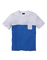 Jacamo Colour Block Tshirt Long