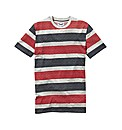 Label J Geo Stripe T-Shirt Long