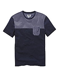 Label J Geo Panel T-Shirt Long