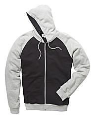 Label J Colr Blck Full Zip Hoodie L